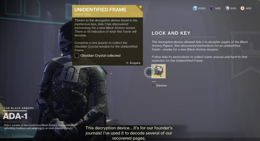 Lock And Key Destiny 2