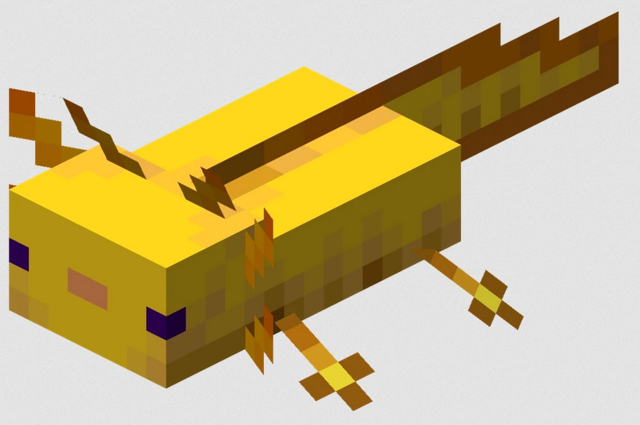 How many Colors of Axolotls are there in Minecraft