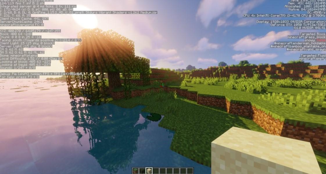 Minecraft 1.18 Optifine