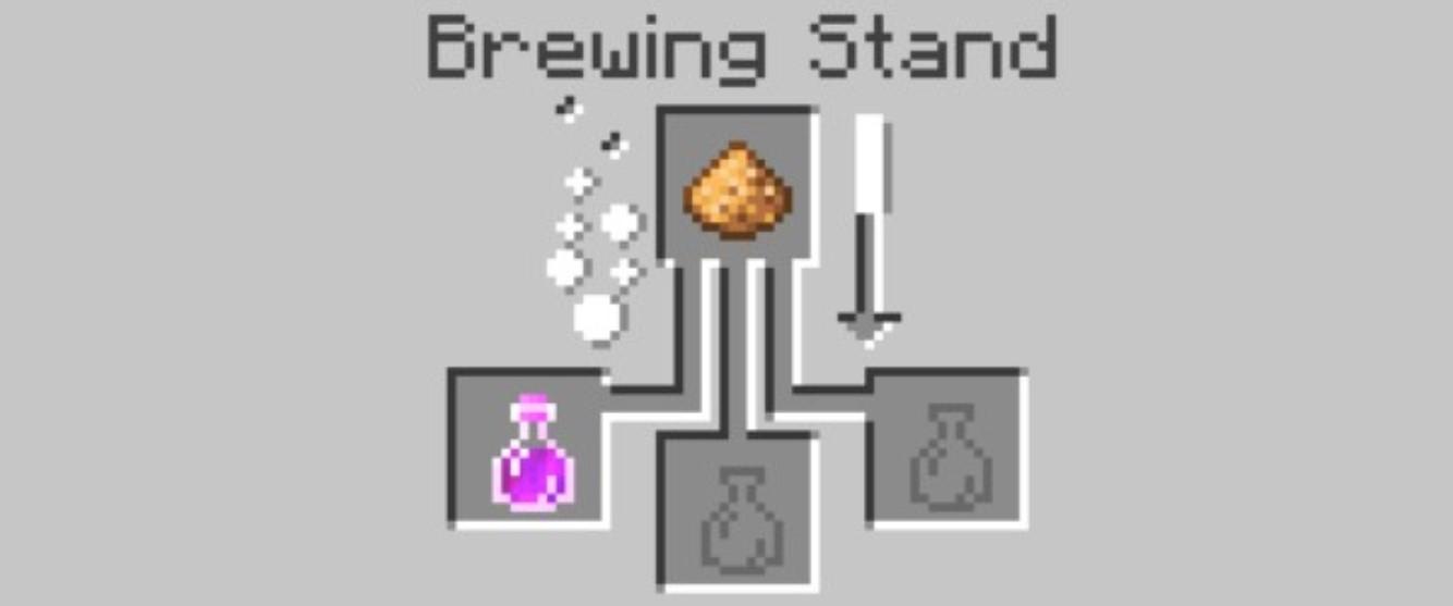 Strength Potion Minecraft Recipe