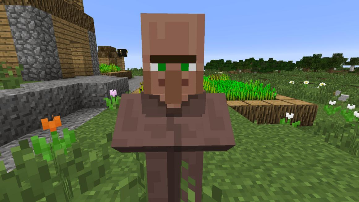 How do you Breed Villagers in Minecraft