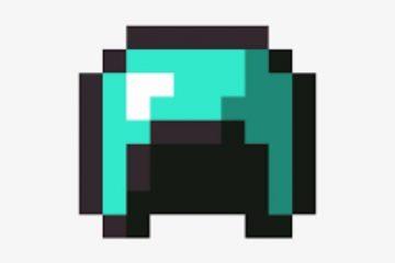 How to make a Diamond Helmet in Minecraft